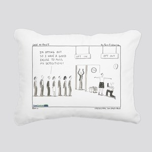 101129.optout Rectangular Canvas Pillow
